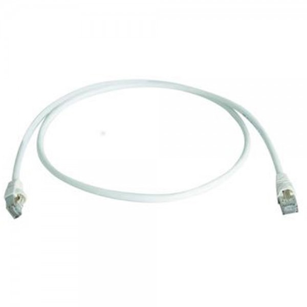Patchkabel RJ45 S/FTP weiss, Category 6a LSZH