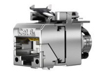 AMJ-SL Modul Cat.6A, T568A, geeignet für RJ45/11/12-Stecker