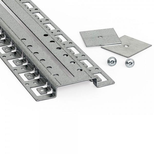 Kabelführungsleiste seitlich für 800x800 mm, Profilmontage