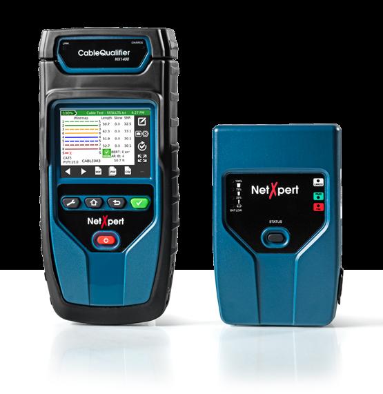 NetXpert 1400, Gigabit LAN Qualifizierer