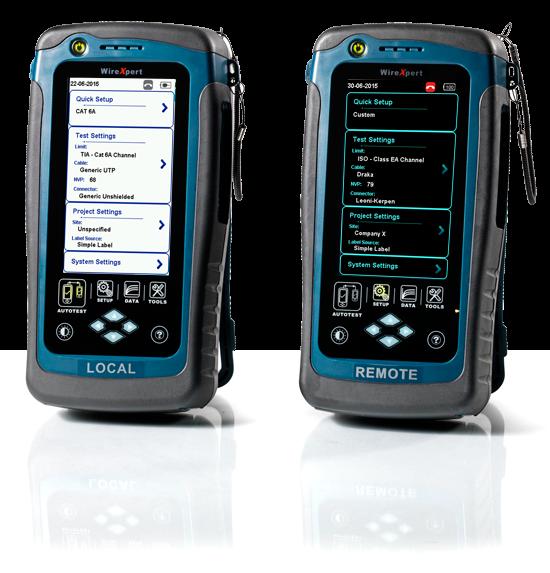 WireXpert 500, Kabelzertifizierer 500 MHz