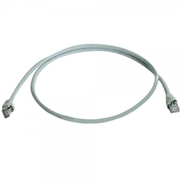 Patchkabel RJ45 S/FTP grau, Category 6a LSZH